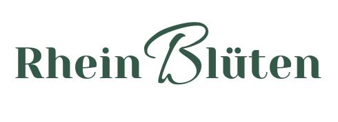 Rheinblüten Gartendesign & Slowflowers Logo